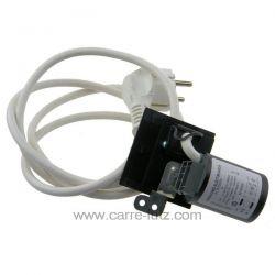 Cable d'alimentation + antiparasite de lave lingeAriston Indesit Hotpoint Scholtes Wirlpool ref. C00091633 C00112678 AAB1300...