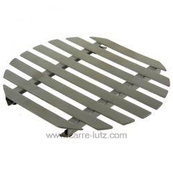 Dessous de plat rond inox Lacor 63036 inox 18/10 4 pieds caoutchouc dimensions 18 x 20 cm , reference 991LC63036