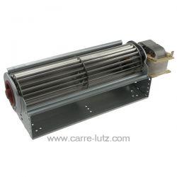 Ventilateur tangentiel 240 mm moteur à droite 1 vitesse EBM QLN65/2400 A33-3025LH équivalent aux suivants ventilateurs tangen...
