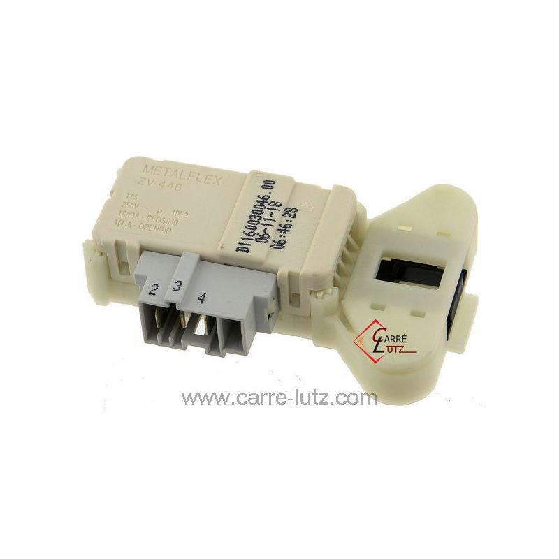 Hotpoint machine à laver Serrure De Porte Verrouillage Véritable METALFLEX ZV446 C00306612