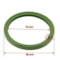 Joint silicone VITON pour tuyau de poele à pellets diamètre 80 mm , reference 705423