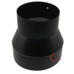 Réduction émaillée noir mat 200 / 153 mm , reference 705828