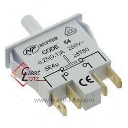 Interrupteur 4220130185 de refrigerateur Beko  DNE44081 DNE44080 DNE44081S DNE44080S , reference 229005