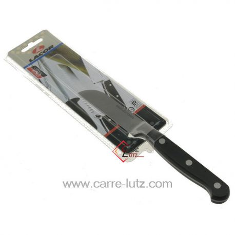 Couteau office classic 8.5 cm Lacor 39185 couteau forgé manche riveté lame de 8.5 cm longueur totale 20 cm  , reference 991L...