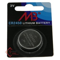 piles bouton Lithium CR2450 3V , reference 99790001