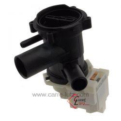 Pompe de vidange de lave linge Ariston Indesit Hotpoint Creda Scholtes ref. C00313213 Bosch Siemens Neff Gaggenau Viva Constr...