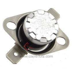 Thermostat NC 125° rearmable , reference 222253