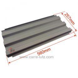 Déflecteur P0047202 remplace les 2 demis déflecteurs en fonte ref. P0018526 pour foyer insert Deville 7706 7831 7832 7850 785...