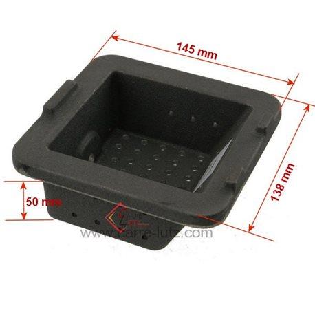 Pot bruleur ou creuset de foyer pour poele a granulé Nordica Extraflame Ref. 3279297, reference 704418
