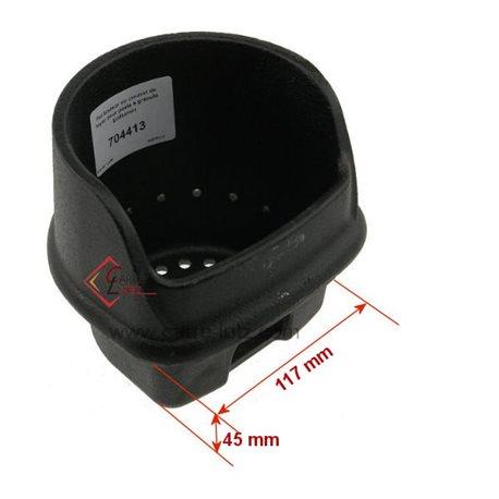 Pot bruleur ou creuset de foyer pour poele a granulé Edilkamin Ref. 248710 378710, reference 704413