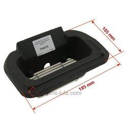 Pot bruleur ou creuset de foyer pour poele a granulé Edilkamin Ref. 645490, reference 704416