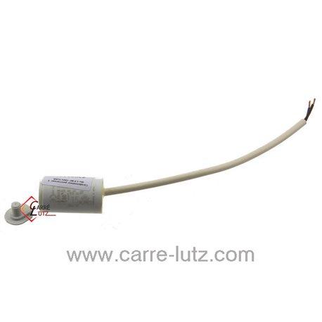 Condensateur permanent à fils 1,5 MF 450V ICAR, reference 23090101