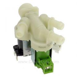 Electrovanne 3 voies 180° 1468766405 de lave linge Aeg Electrolux Arthur Martin Faure Zanussi ref. 1468766405 4006016127 1468...