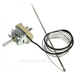 Thermostat de four 50 300° Sonde inox EGO 5510062010 de fourAeg Electrolux Arthur Martin Faure Zanussi ref. 50247554004 Ari...