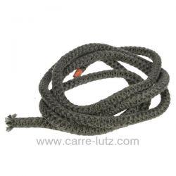 Joint fibre de verre tressée diamètre 16 mm environ 3,2 mt , reference 705009