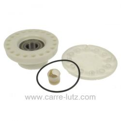 Palier gauche coté opposé à la poulie Roulement 6204 filtage pas à droite de lave linge Aeg Electrolux Arthur Martin Faure Za...