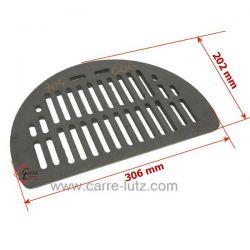 Grille de décendrage de pôele à bois Supra Ref. 28580 28580PO 28580NOIBC FR1067520B, reference 704006