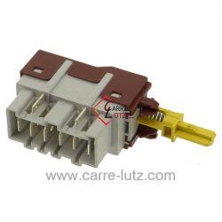 Interrupteur marche arret de lave vaisselleAeg Electrolux Arthur Martin Faure Zanker Zanussi ref. 1249271402 1115741017 1115...