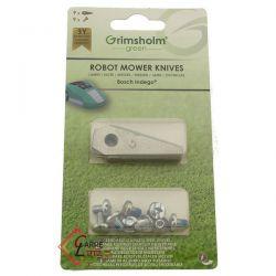 F016800321 - 9 Lames de robot tondeuse Bosch
