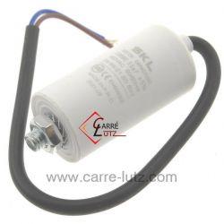 Condensateur permanent à fils 3,5 MF 450V , reference 230029